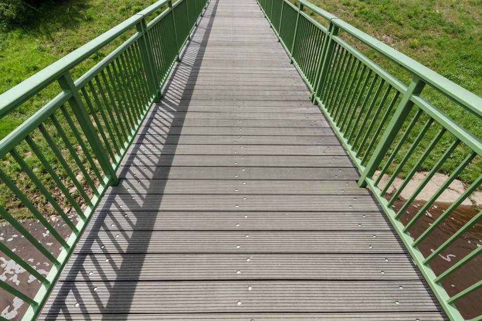 Umbau Brücke