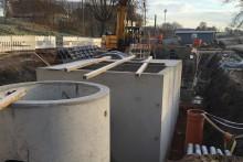 Neubau Grobreinigung Kläranlage