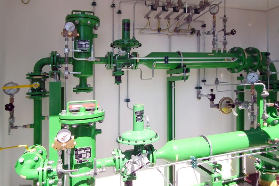 Gasdruckregelanlage
