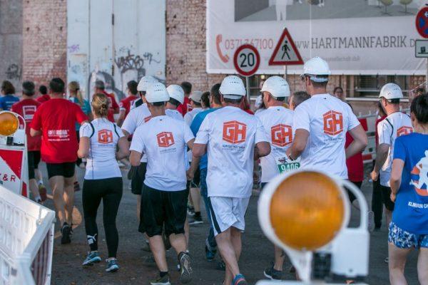 Als starkes Team gemeinsam ins Ziel - Firmenlauf 2019