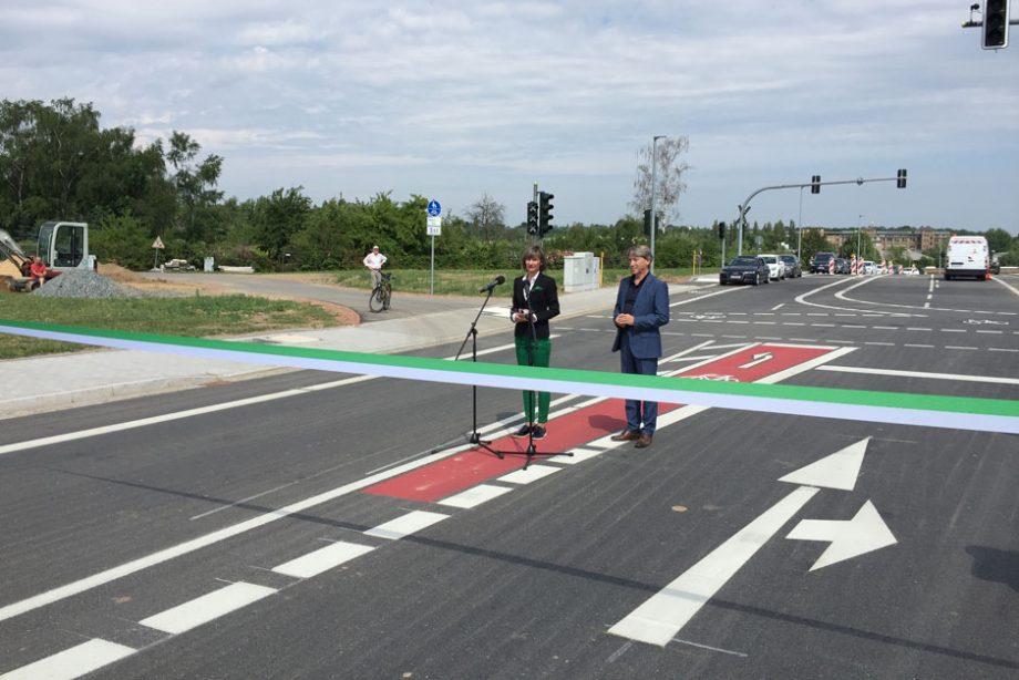 Neue Fraunhoferstraße freigegeben