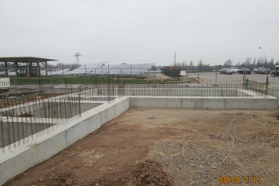 Neubau Transporterwerkstatt
