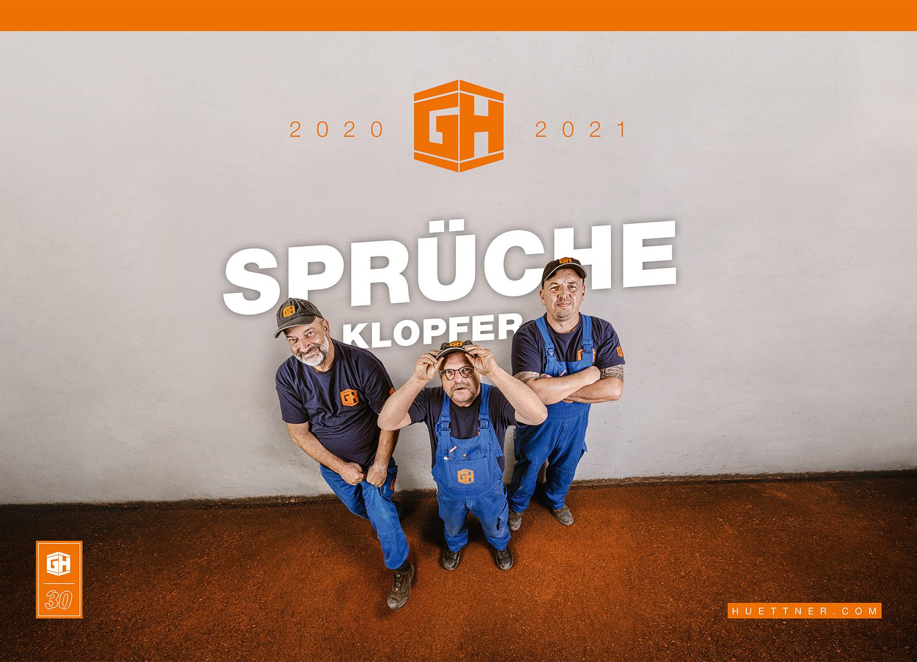Hüttner-Kalender 2020