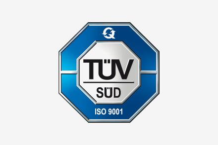 TÜV Süd - DIN EN ISO 9001