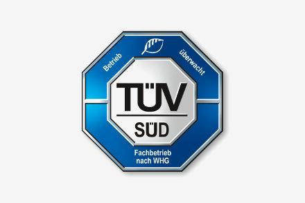 TÜV Süd - Fachbetrieb nach WHG